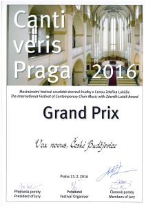 Vox Novus - Grand Prix